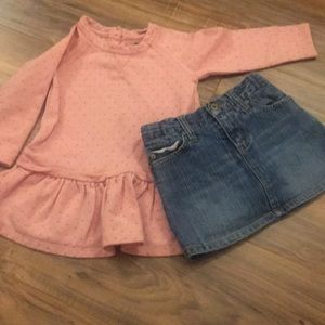Cute baby girl outfit! Baby Gap 18-24 month